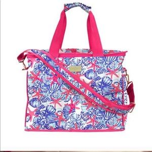 lilly pulitzer | insulated cooler bag